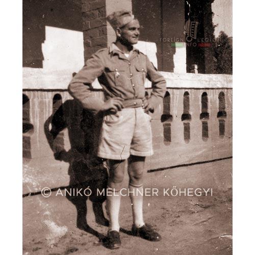 Legionnaire Karl Melchner - 4e DBLE - 4 DBLE - Madagascar - Foreign Legion - 1948