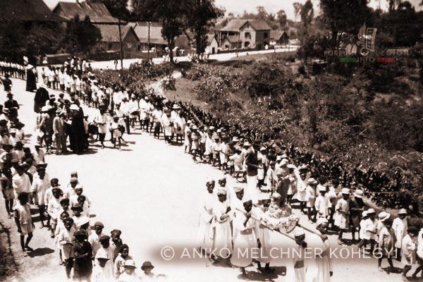 Procession - Madagascar - Foreign Legion - 1948