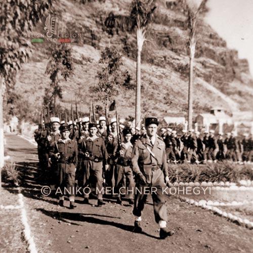 La Réunion - Saint-Denis - Bastille Day - 4e DBLE - 4 DBLE - Foreign Legion - 1948
