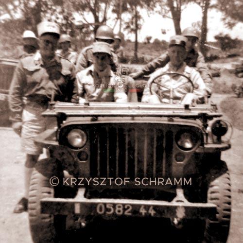 Major Périn - Pierre Perin - 4e DBLEM - 4 DBLEM - Madagascar - Foreign Legion - 1947