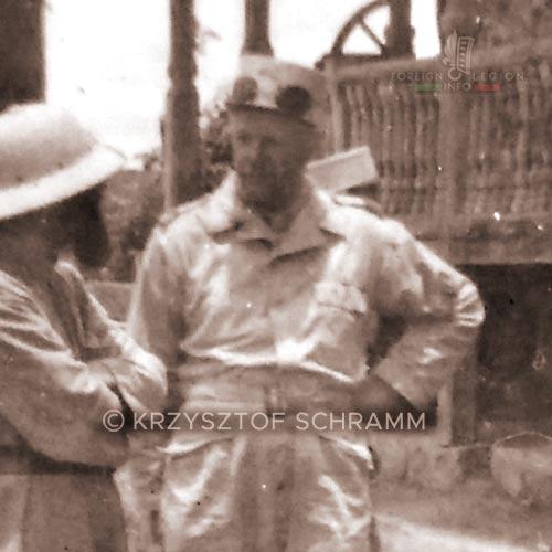 Major Perin - Pierre Perin - 4e DBLEM - 4 DBLEM - Madagascar - Foreign Legion - 1947