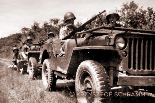 Jeeps - 4e DBLEM - 4 DBLEM - Madagascar - Foreign Legion - 1947