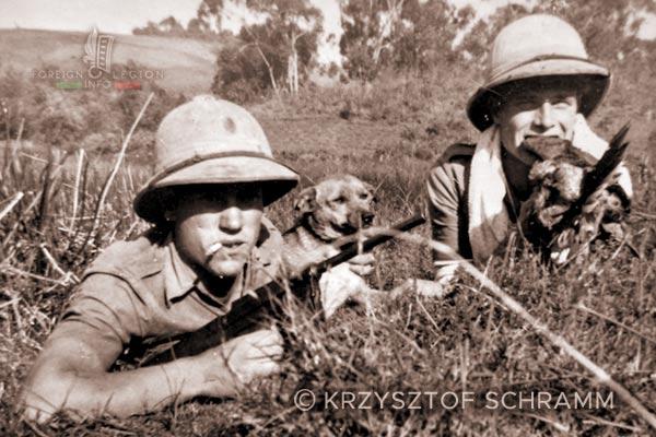 4e DBLEM - 4 DBLEM - Legionnaires - Madagascar - Foreign Legion - 1947