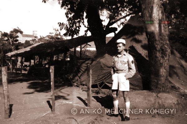 Ambositra - Camp - 4e REI - 4 REI - Madagascar - Foreign Legion - 1949
