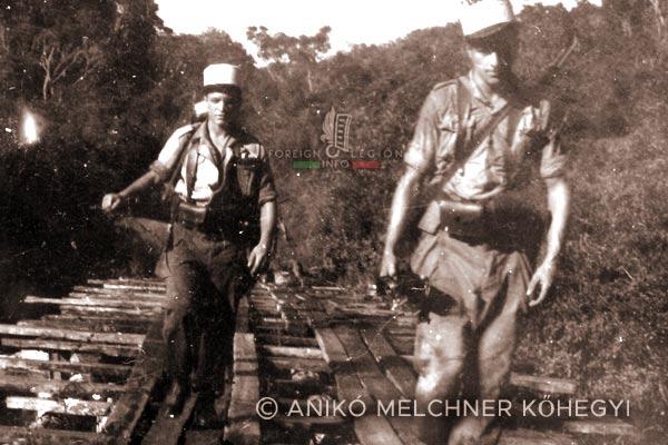 4e REI - 4 REI - Madagascar - Foreign Legion - Patrol - 1949
