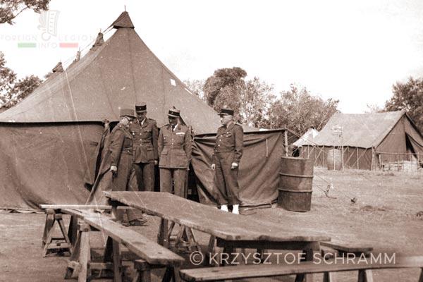 Ambositra - camp - 4e REI - 4 REI - Madagascar - Foreign Legion - 1950