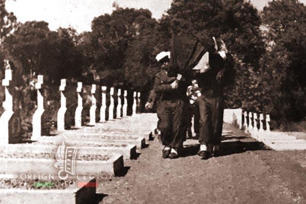 Cemetery - Ambositra - 4e REI - 4 REI - Madagascar - Foreign Legion - 1950