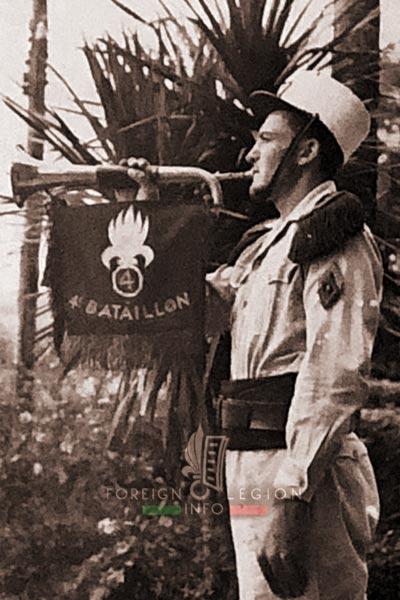 Clairon - Bugler - 4th Battalion - 4e REI - 4 REI - Foreign Legion - 1950-1951
