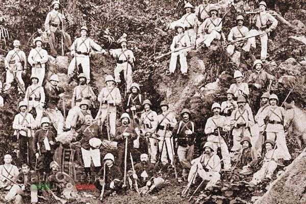Foreign Legion - Madagascar - legionnaires - 1895-1905