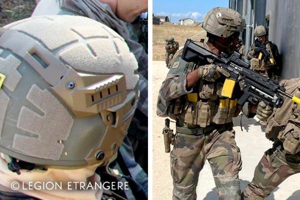 French Foreign Legion - 2021 - Helmet F3