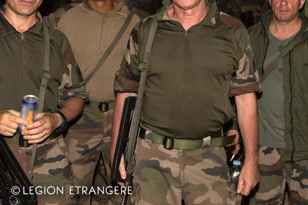 French Foreign Legion - Tactical Combat Shirt - 1er RE - 2018