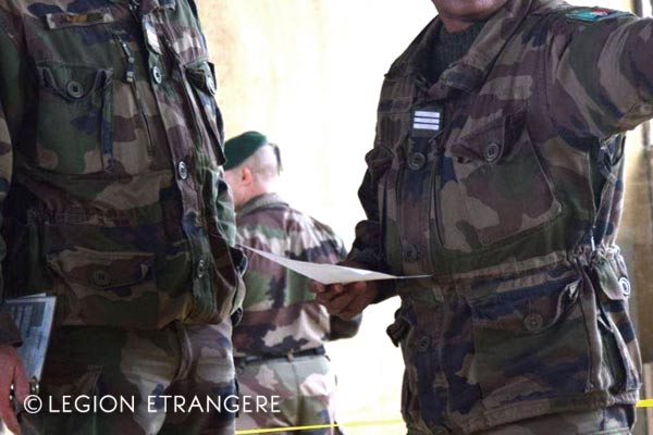 French Foreign Legion - Uniform T3 - 1er REC