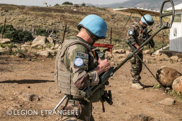 French Foreign Legion - 1er REG - Lebanon - Operation Daman - 2018
