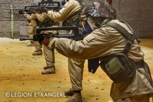 French Foreign Legion - NBC suit - 2018 - 1er REG