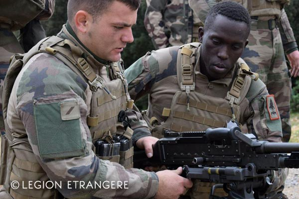 French Foreign Legion - SMB - Plate carrier system