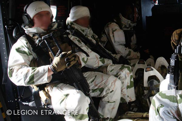 French Foreign Legion - GCM - Mountain Commando - 2e REG - 2014