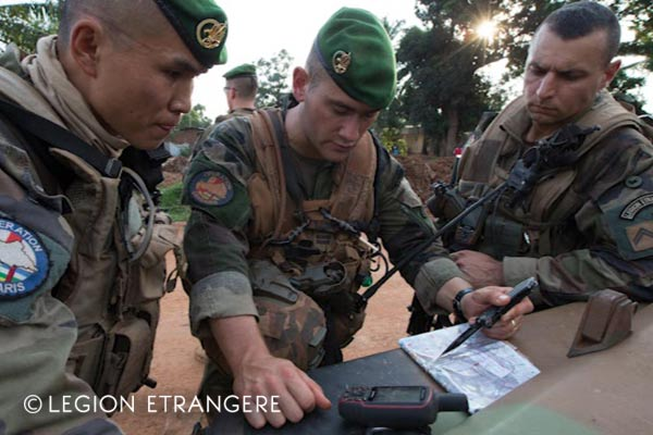 French Foreign Legion - 2e REI - Central African Republic - Operation Sangaris - 2016