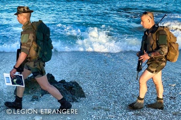 French Foreign Legion - 2e REI - Europa Island - Shorts - 2021