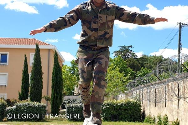 French Foreign Legion - Physical Training  - Uniform F2