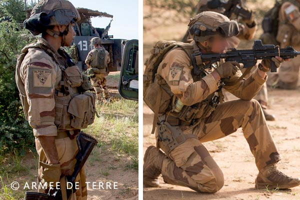 French Foreign Legion - 2e REP - Mali - Operation Barkhane - 2018