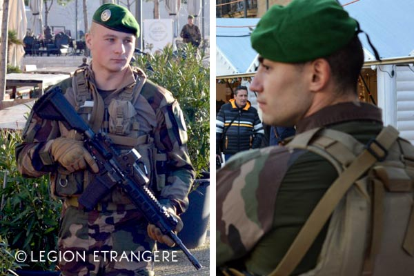 French Foreign Legion - 2e REP - Combat Uniform - Operation Sentinelle - Marseille - 2018