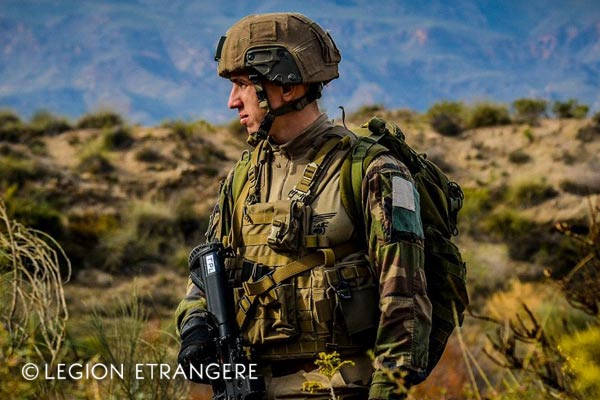 French Foreign Legion - Spain - 2e REP - Exercise - 2018