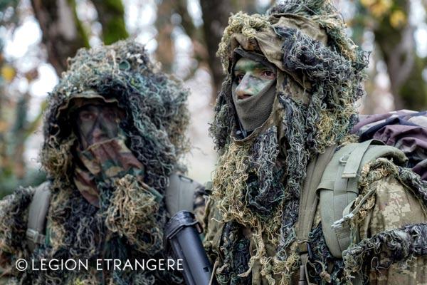 French Foreign Legion sniper uniform