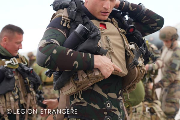 French Foreign Legion - 2e REP - Amphibious Company - wetsuit - 2021