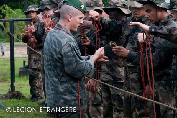 French Foreign Legion - CEFE - Jungle Training Center - 3e REI - 2018