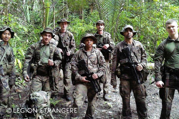 French Foreign Legion - 3e REI - Guiana - Operation Harpie - SAED - 2018