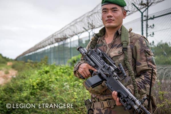 French Foreign Legion - 3e REI - Guiana - Operation Titan - Tropical Shirt - 2018