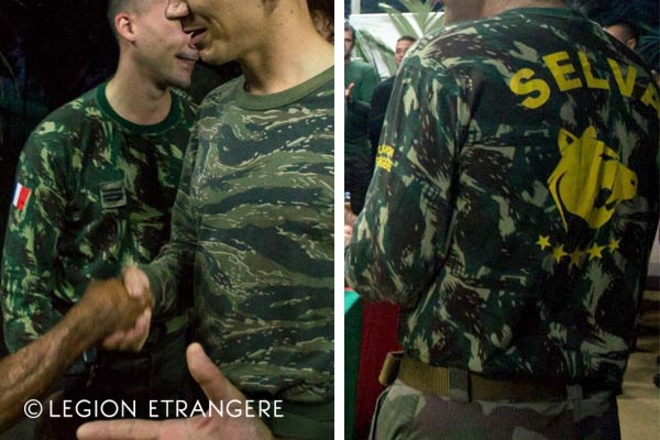 French Foreign Legion - 3e REI - Guiana - Selva T-Shirt - 2018
