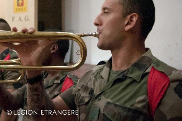 French Foreign Legion - 3e REI - Guiana - Short-sleeve Shirt - Foulard - 2018