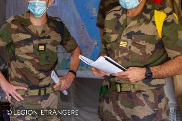 French Foreign Legion - 3e REI - Guiana - Short-sleeve Shirt - Foulard - 2021