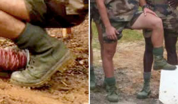 French Foreign Legion bush boots