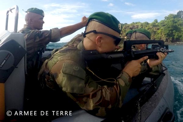 French Foreign Legion - DLEM - Mayotte - Exercise - 2018