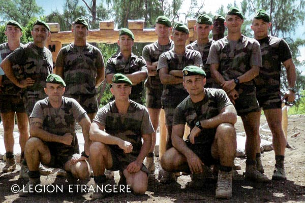 French Foreign Legion - DLEM - Glorieuses - Shorts - 2018
