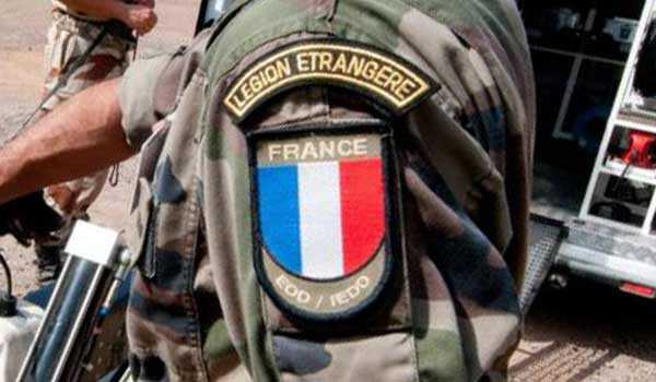 French Foreign Legion tactical combat shirt