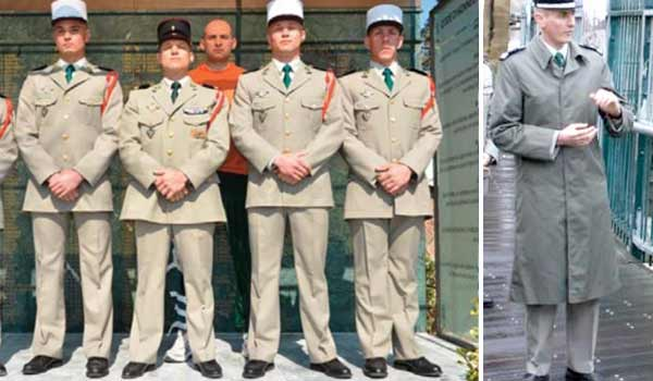 Pictures of the french foreign legion dress uniform