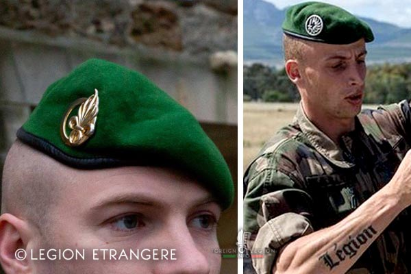 French Foreign Legion - Berets