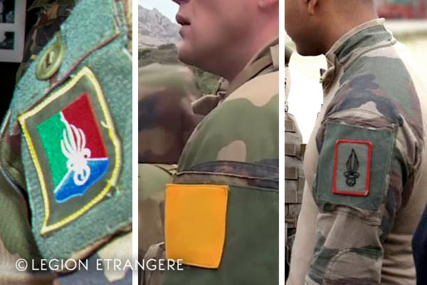 French Foreign Legion - Company patches