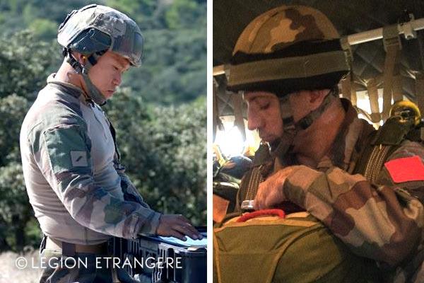 French Foreign Legion - 2018 - Tactical Combat Shirt - 2e REI - FELIN helmet - 1978 Helmet - 2e REP