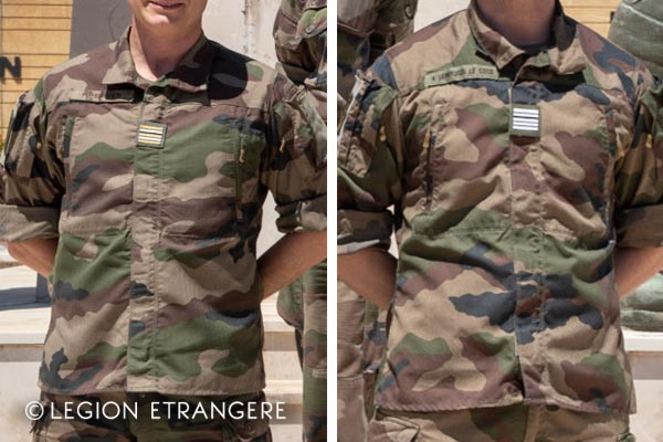 French Foreign Legion - Uniform F3 - Commanding officers - 2021