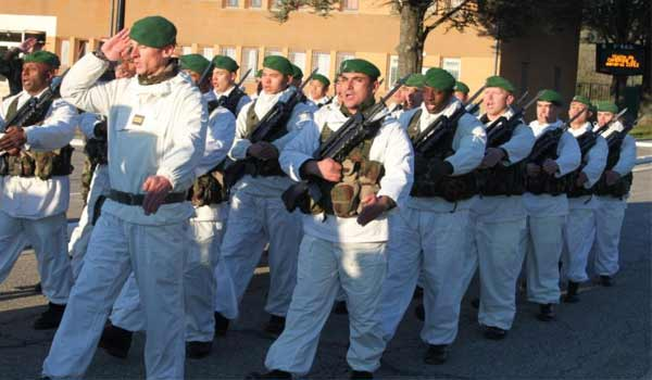 French Foreign Legion mountain combat uniform