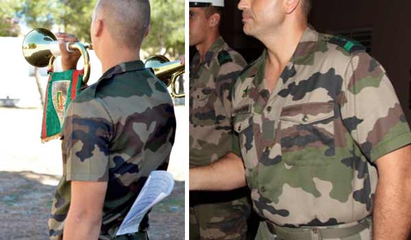 Utility uniform shirt of the French Foreign Legion