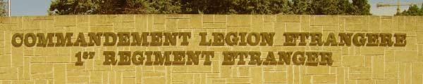 Foreign Legion Command - COMLE - Commandement de la Légion Etrangère